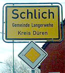 A German village named Schlich