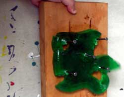 nailing jello to a wall